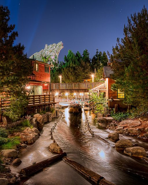 Grizzly River Run. It's best at night :)                                      THIS IS MT FAVE RIDE AT DISNEYLAND!!!!!!