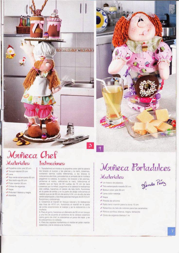 Revistas de manualidades gratis revista lenceria para el - Manualidades para el hogar ...