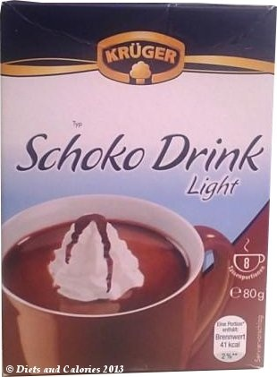 Kruger Hot Chocolate Light Asda 41 Calories Hot