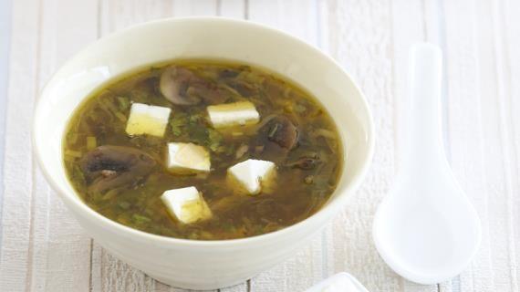 Суп с тофу и шампиньонами. Пошаговый рецепт с фото на Gastronom.ru