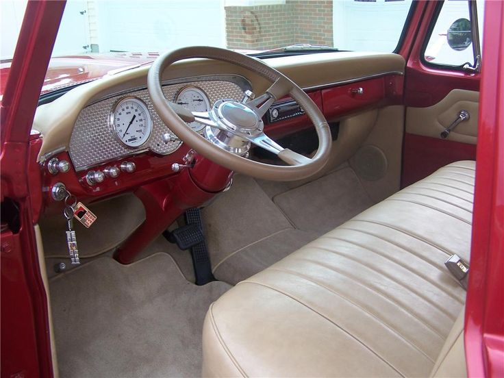 Amazing 1966 Chevy Truck Interior