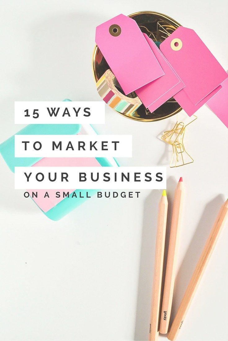 Hate Self-Promotion? 15 (non-icky) Ways to Market Your Business on a Small Budget - Image via Rekita Nicole