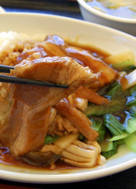 Pork back ribs stew rice. Healthy Chinese restaurant,Seiren. Fujigaoka,Yokohama,Japan. kurosuke ishigaki
