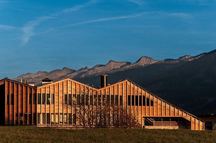 Ampliamento Centrale Di Teleriscaldamento E Nuovi Uffici Bioenergia Fiemme - Picture gallery