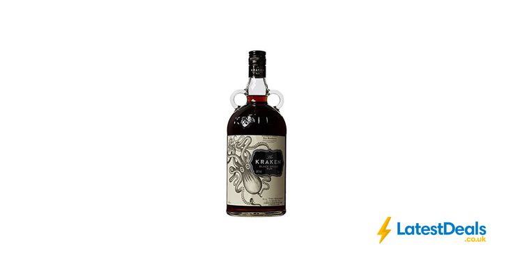 Kraken Black Spiced Rum, 1 Ltr *TODAY ONLY*, £22.50 at Amazon UK