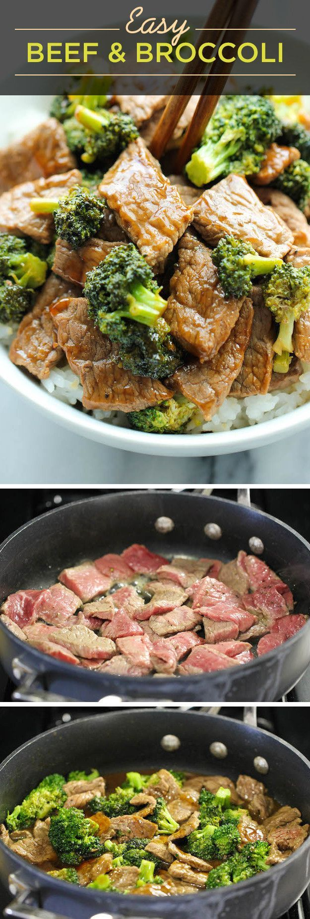 Easy Beef and Broccoli Recipe - From Damn Delicious :: /damndelicious/ ::   Glamour Shots Photography