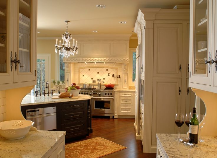 french cafe kitchen design - French Kitchen Design Ideas