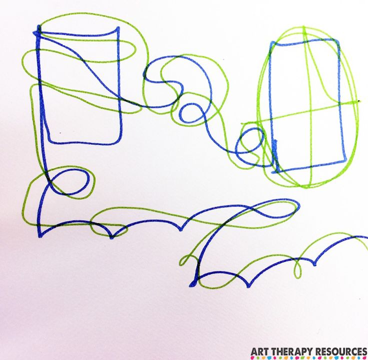 Scribble Drawing Therapy : Best art therapy images on pinterest
