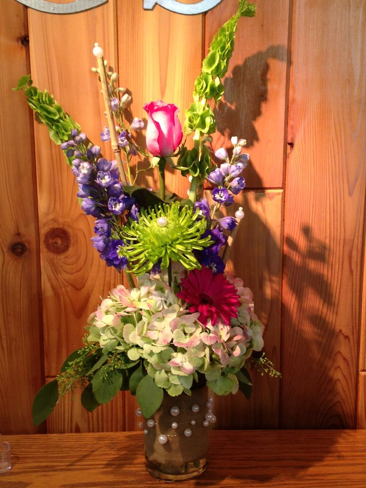 Wax Flower Arrangements