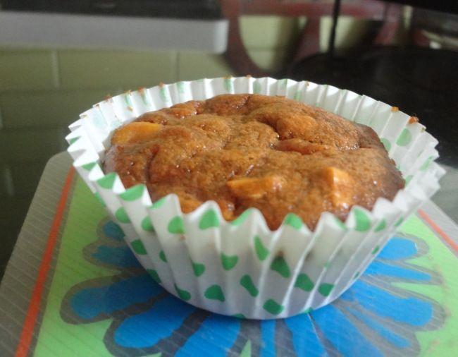 wholewheat mango cupcake