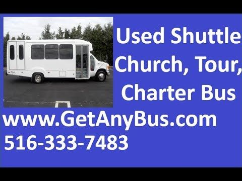 Used Wheelchair Buses For Sale | 2003 Ford E450 Wheelchair Shuttle Bus For Sale