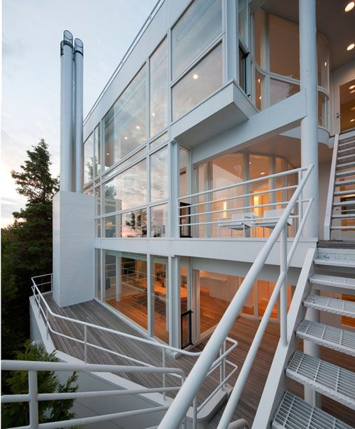 25 Unique Staircase Designs To Take Center Stage In Your Home: 17 Best Ideas About Richard Meier On Pinterest