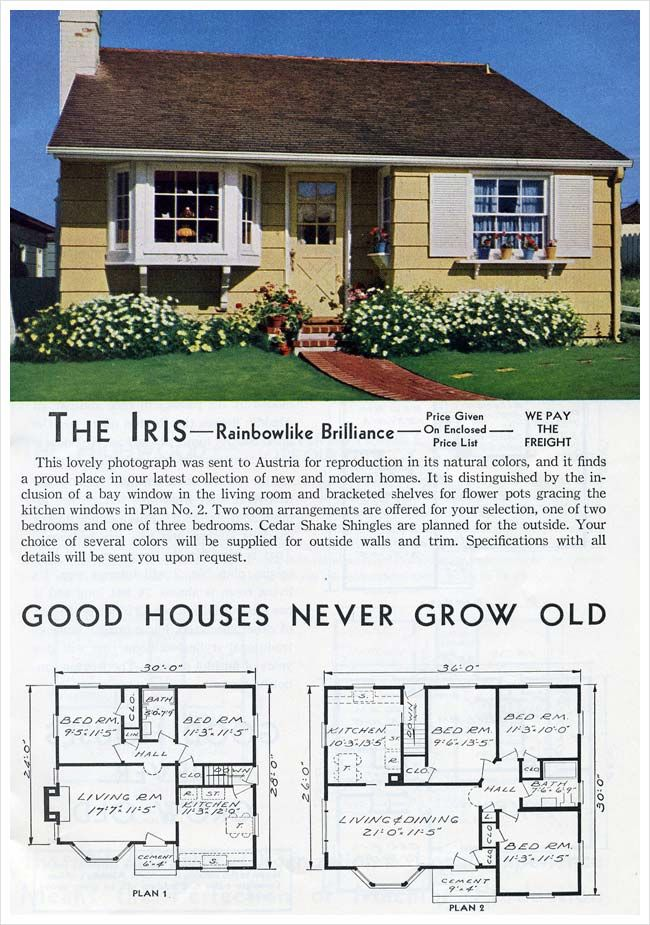 55 best 1930 1965 minimal traditional images on pinterest for Minimal house plan