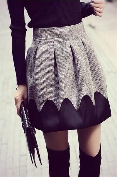 Как удлинить юбку или платье