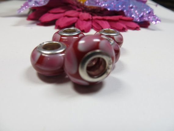 5pcs Red and Pink  Murano Glass Beads by TheCraftShedd on Etsy, $5.00Red And Pink, Glasses Beads, 5Pcs Red, Murano Glasses, Pink Murano, Crafts Shedd
