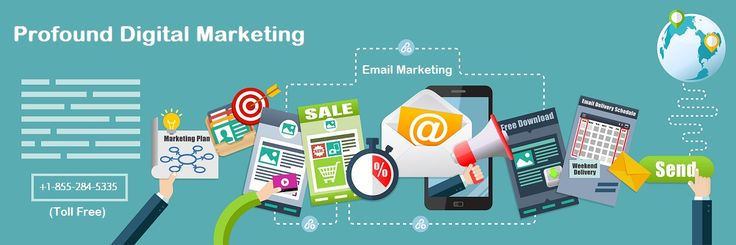 Choose from a number of #email #marketing packages available. Call us toll free for anytime consultation. Visit us at profounddigitalmarketing.com