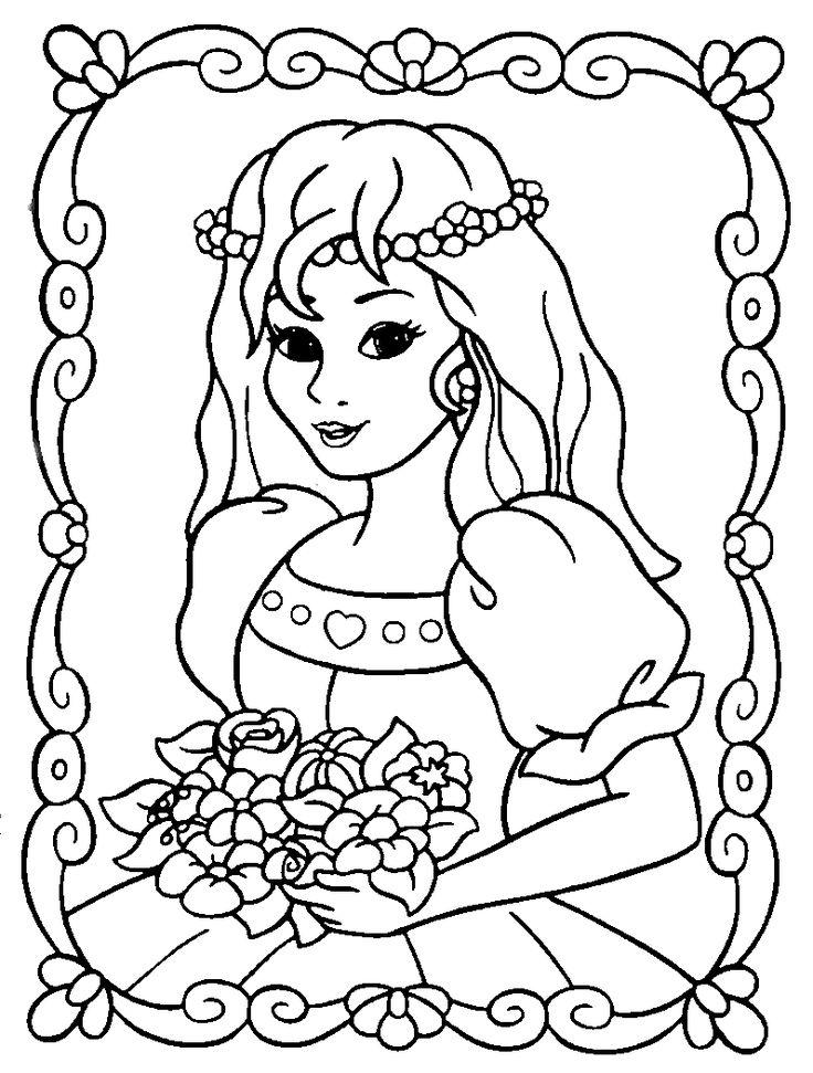 princess coloring pages | Princess Coloring Page
