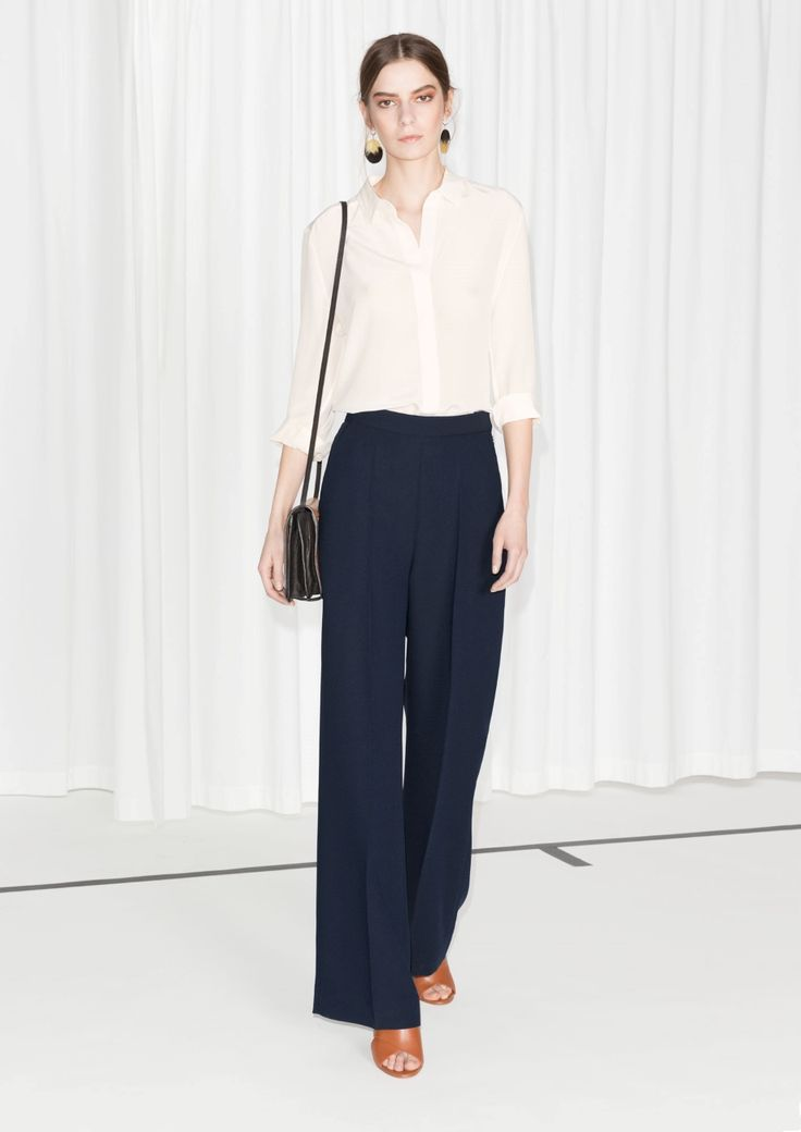 & Other Stories | Wide Tailored Trousers