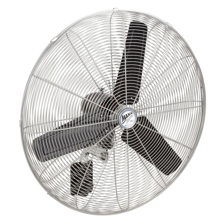 Outdoor Wall Mount Oscillating Fan With Remote