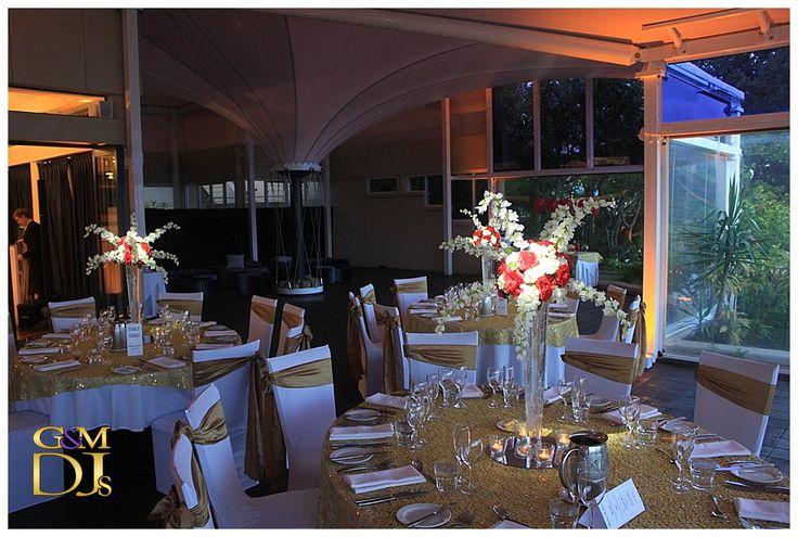 The Landing at Dockside Brisbane Wedding - Barbra & Jason - Room Pin Spotting & Yellow Wedding Lighting | G&M DJs | Magnifique Weddings #gmdjs #magnifiqueweddings #weddinglighting #weddingdjbrisbane @gmdjs