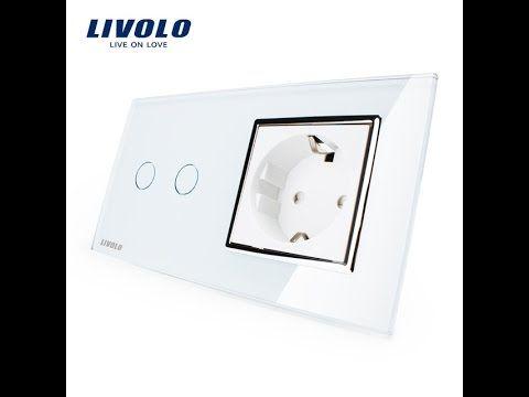 Классные сенсорные выключатели от фирмы LIVOLO с ALIEXPRESS.Cool touch s...