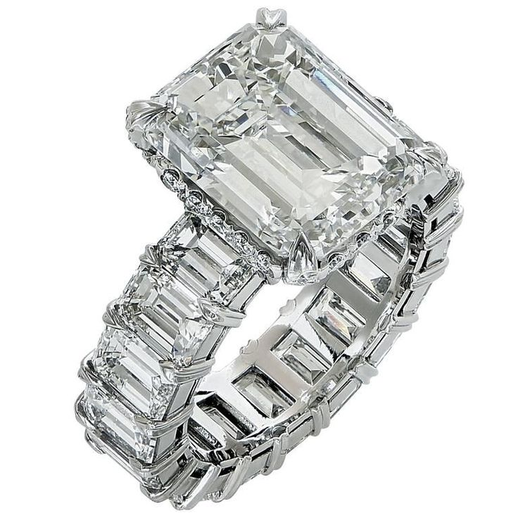 $350,000. Incredible 14.96 Carat Diamond Engagement Ring | From a unique collection of vintage engagement rings at https://www.1stdibs.com/jewelry/rings/engagement-rings/