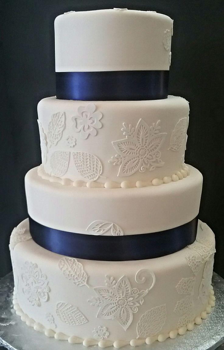 Vintage Fondant Cake Design : 202 best images about Custom unique wedding and groom s ...