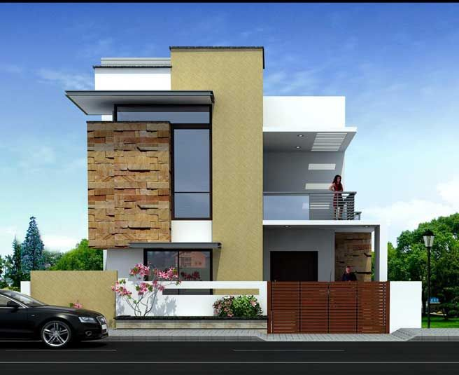 3 Bhk Home Plans And Elevation on 280 Sq Yds 42x60 Ft North Face House