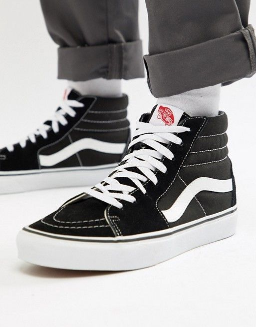 Vans | Vans Sk8-Hi Sneakers In Black VD5IB8C | Scarpe da ...