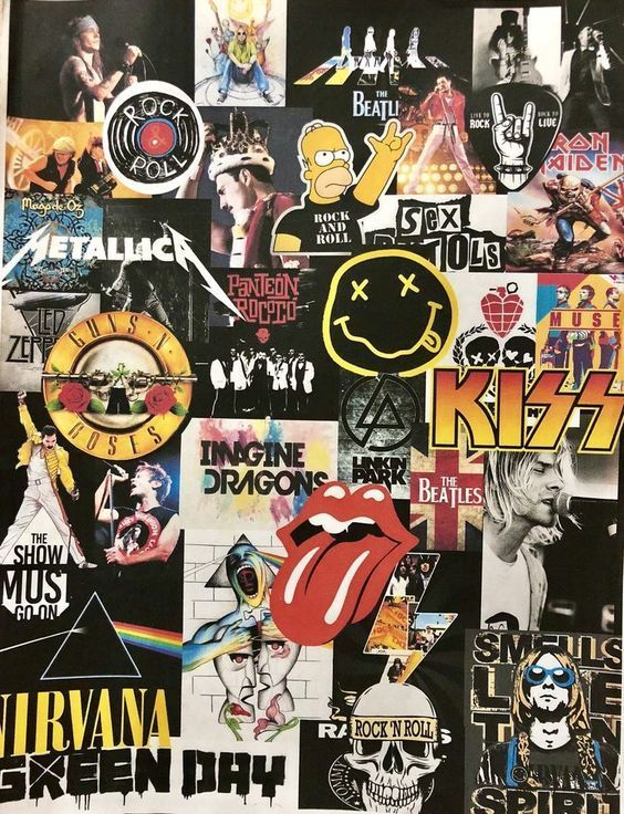 Greatest Bands Of Alltime Which One Is Your Favorite Band Wallpapers Rock Band Posters Rock Background