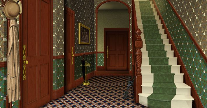 Idaho Victorian Photos Hallway Of The Victorian House