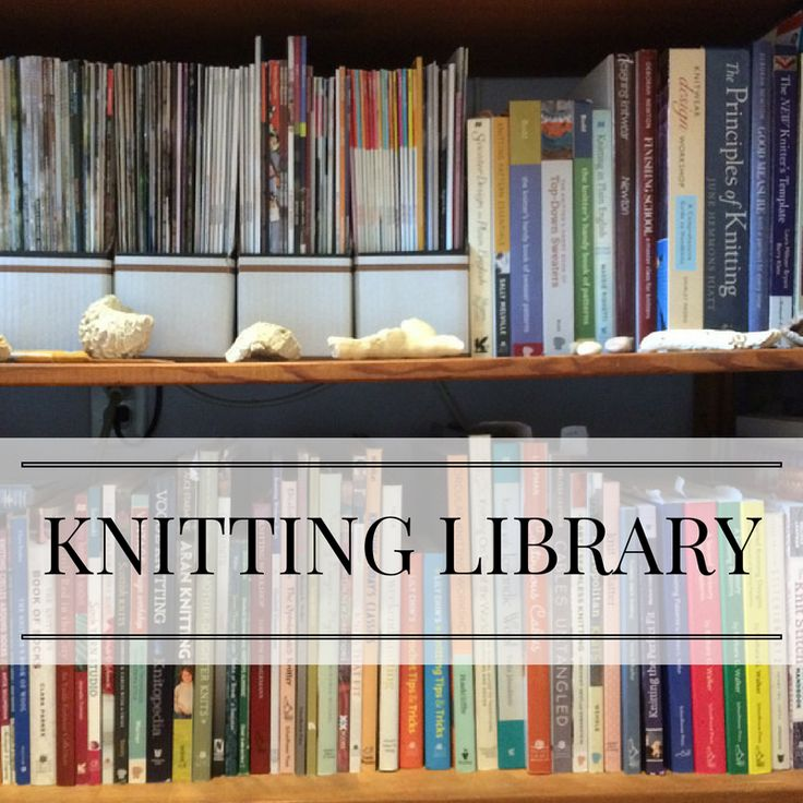 Every knitter needs good resources. Find out which knitting (and crochet) books I keep on my shelves. And follow my blog (PattyLyons.com/blog) for more recommendations and reviews!