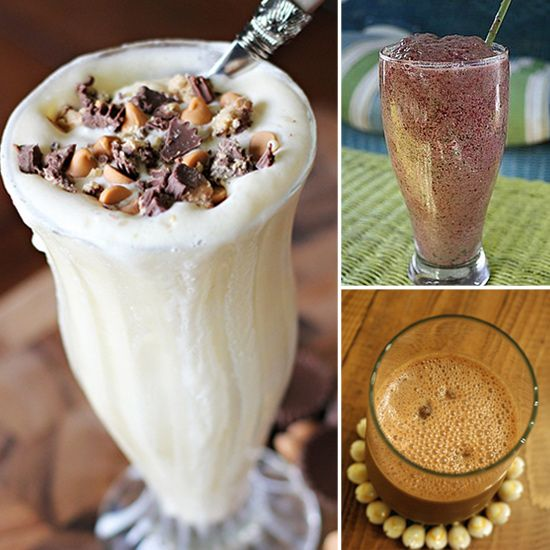 Healthy Smoothie Recipes - make them at bedtime so they're ready in