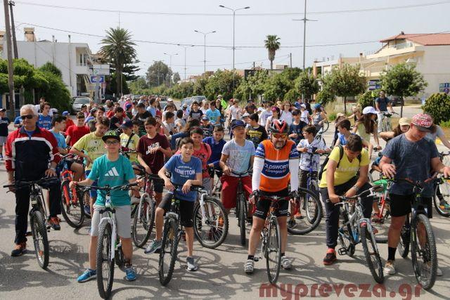 Πρέβεζα: Την Κυριακή 14 Μαϊου η Πρέβεζα θα γεμίσει ποδήλατα-Έρχεται η 10η Πανελλαδική Ποδηλατοπορεία
