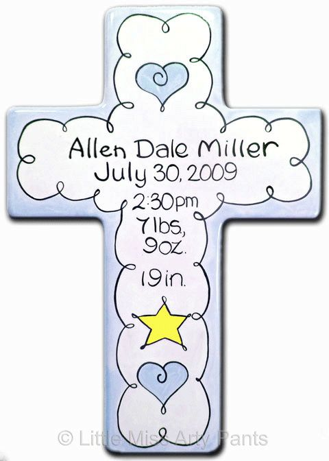 38 best Baby pottery painting images – Birth Announcement Plaques
