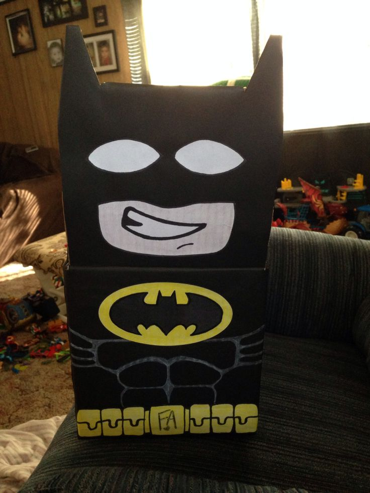Batman Valentine Boxes Craft Pictures to Pin on Pinterest  ThePinsta