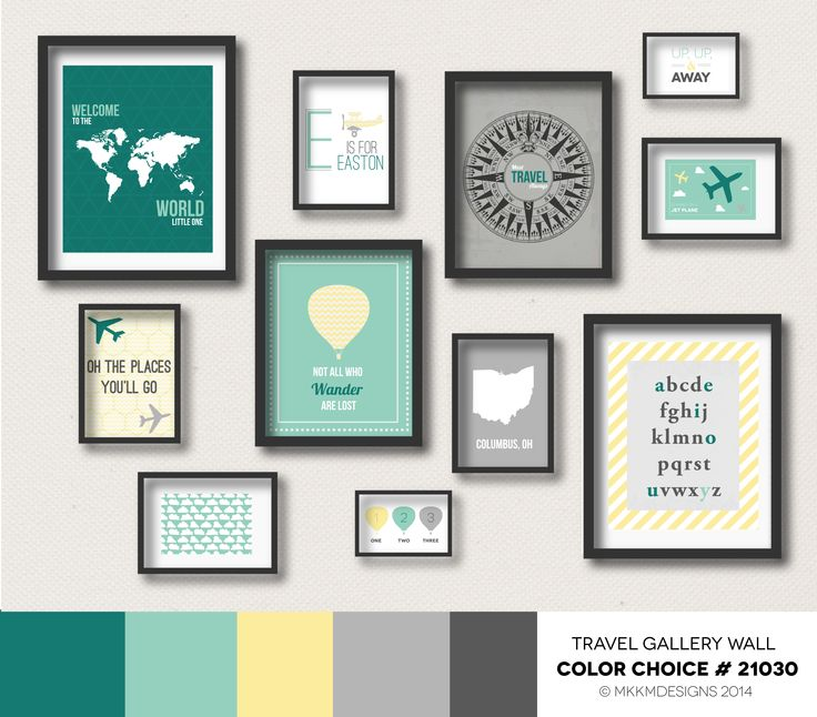 Gallery Wall Prints 27 best travel gallery wall color choices images on pinterest