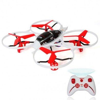 Zdalnie sterowany Quadrocopter Syma X3 to wyjątkowy quadrocopter, który gwarantuje doskonałą stabilność lotu i któremu niestraszne trudne warunki pogodowe. Dzięki swojej unikalnej konstrukcji idealnie nadaje się do latanie nie tylko na otwartej przestrzeni, ale również w pomieszczeniach zamkniętych. Opis, dane techniczne, komentarze oraz film Video znajdziesz na naszej stronie, nie ma jeszcze komentarzy, to czemu nie zostawisz swojego:)