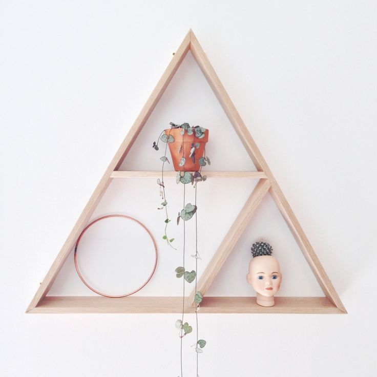 Image result for white triangle shelf