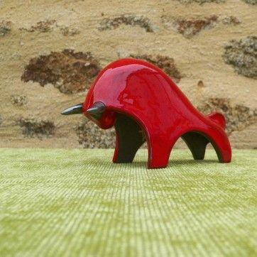 TB01 R Tête basse rouge