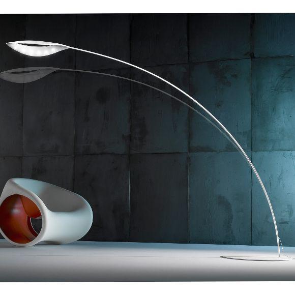 Põrandavalgusti Folia, 21w Lediga, 2237lm põrandavalgusti. Kõrgus 223cm. Koduvalgustid, Disainvalgustid, Led-valgustid, Kodu põrandavalgustid, Led valgustid, Disain põrandavalgustid.  LineaLight