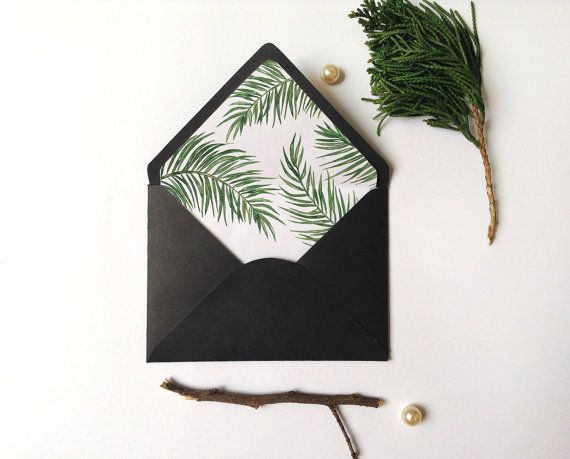 For the DIY bride or for your daily correspondence, we now offer envelope liners in a variety of colors and unique patterns to add a fun splash