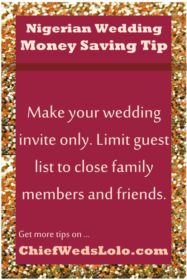 wedding planning outline