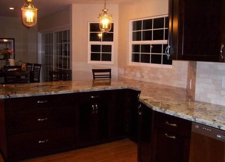 alaska white granite with off cabinets alaskan kitchens price per square foot slab