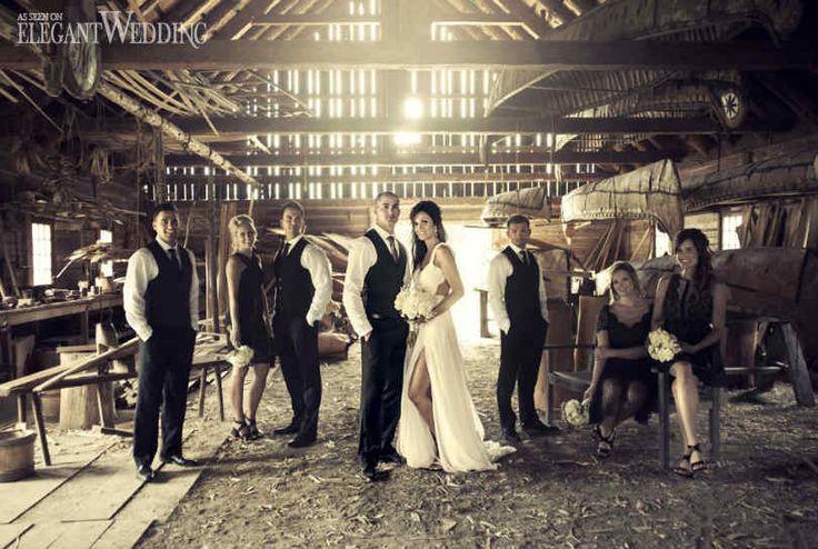 RUSTIC SMALL TOWN ONTARIO WEDDING | Elegant Wedding