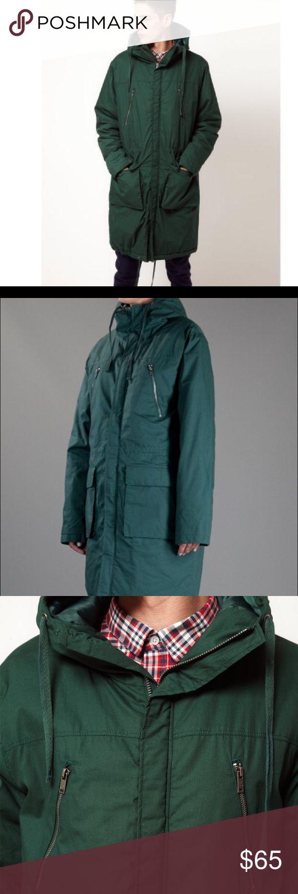 Cheap Monday Men's Anorak Coat Cheap Monday Men's Anorak Coat in green Cheap Monday Jackets & Coats Trench Coats