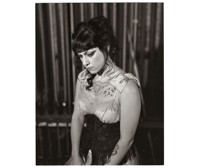"""Dannie Diesel...or better known as Danielle Colby Cushman from """"American Pickers""""."""