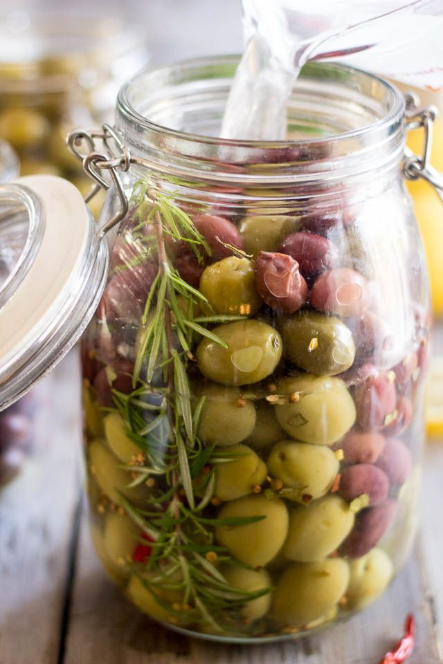 DIY Gourmet Olives | by Sonia! The Healthy Foodie