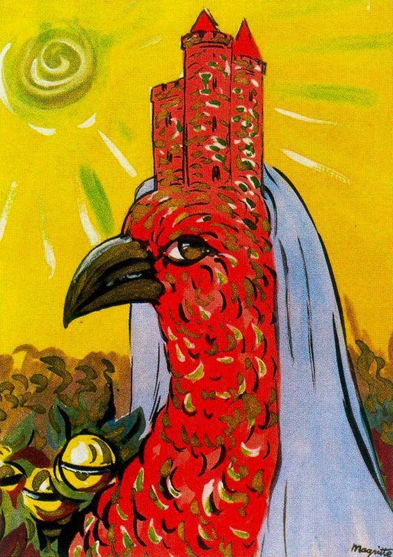 Prince Charming    1948  Rene Magritte