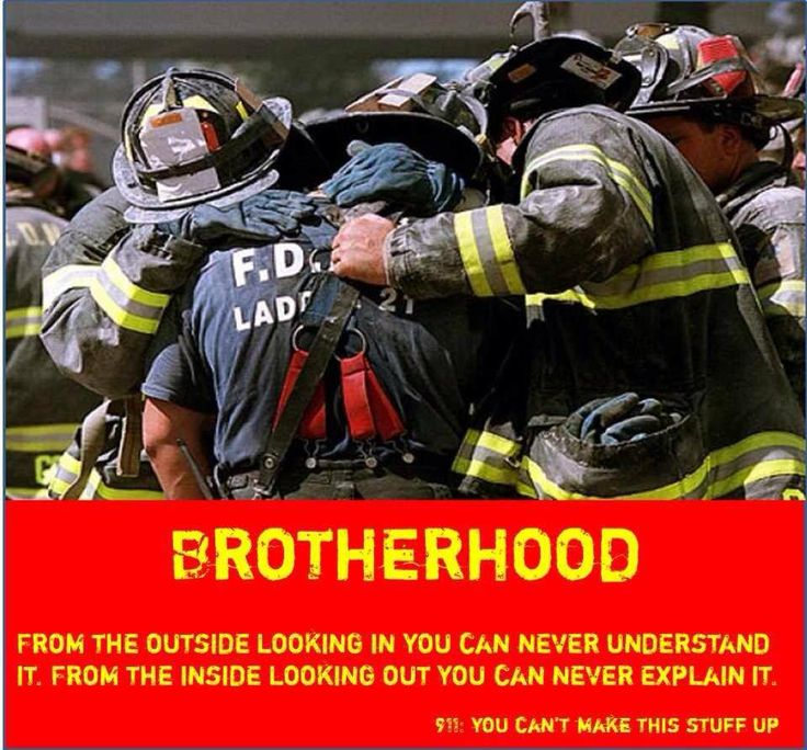 BROTHERHOOD From the outside looking in you can never ...